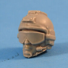 "MH066 Custom Cast Male head use with 3.75"" GI Joe Star Wars Marvel figures"