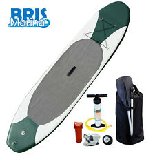 "New 10' Stand Up Paddleboard - 4"" Thick Inflatable SUP with Paddle Included"