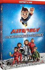 """Coffret 2 DVD """"ASTRO BOY + LES CHIMPANZES DE L'ESPACE"""" Neuf Sous Blister"""