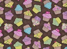 Cupcake Cuties Cotton Fabric