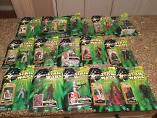 Hasbro Star wars power of the Jedi. 16 figures. Lot#42