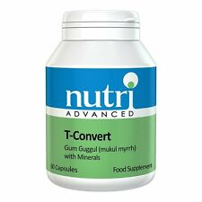 Nutri Advanced T-Convert Gum Guggul with Minerals 60 Capsules