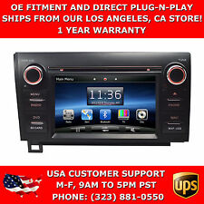 GPS Navigation 2 Din Touch Screen Mp3 Multimedia Radio for Toyota Tundra 07-12