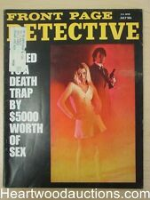 """""""Front Page Detective"""" July 1972"""