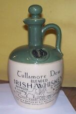 UNIQUE VINTAGE TULLAMORE DEW BLENDED IRISH WHISKEY JUG CROCK STONEWARE