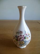 Unboxed New Coalport Bone China Small Decorative Vase Ming Roses