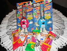 M & M CANDY DISPENSERS AND PEZ DISPENSERS