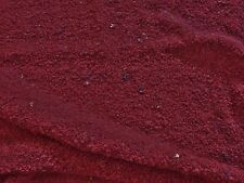 LIGHTWEIGHT KNITTED SPECKLED  BOUCLEE-LIGHT BURGUNDY -DRESS FABRIC-FREE P&P