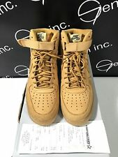 Authentic Nike Air Force 1 High '07 LV8 PRM QS Wheat Flax Size 11