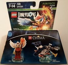 NEW LEGO DIMENSIONS FUN PACK LEGENDS OF CHIMA ERIS 71232 FREE WORLDWIDE SHIPPING