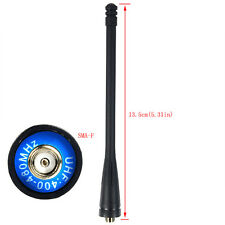 Black Original UHF 400-480 MHz SMA-F Antenna for Retevis RT7 Walkie Talkies