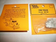 Wheel Works Vehicles N Scale Vintage Fire Truck White Metal Casting Kit BTTG