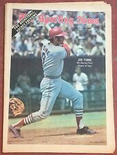 10-23-71 SPORTING NEWS ST. LOUIS CARDINALS JOE TORRE ON COVER