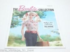 NEW Barbie Doll SUMMER 2015 Catalog Magazine Collector Mattel Doll Collection