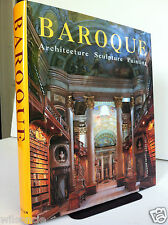Baroque Architecture Sculpture Painting by Rolf Toman (1998, Hardcover)