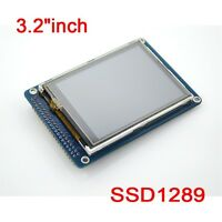 """3.2""""inch TFT LCD Display Module + Touch Panel & SD Card Cage for Arduino uno r3"""