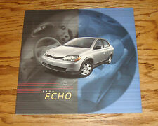 Original 2000 Toyota Echo Sales Brochure 00