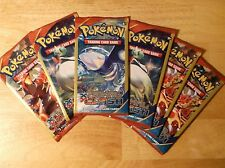 6 Pokemon XY Primal Clash Packs 4 Card Pack Factory Sealed