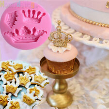 3D Crown Silicone Fondant Mold Cake Decorating Chocolate Baking Mould Sugarcraft