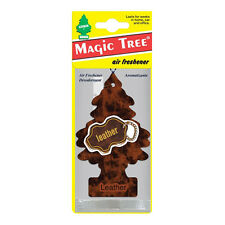 1x Magic Tree Leather Air Freshener Long Lasting Frangrance New Car Smell