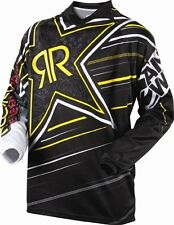 Youth M Medium Rockstar Motorbike MX BMX Jersey Colab Black Kids Childrens