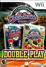LITTLE LEAGUE WORLD SERIES BASEBALL: DOUBLE PLAY --  Nintendo Wii Complete Game