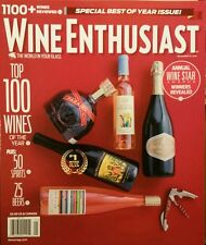 Wine Enthusiast Special Best of the Year Issue Dec 2014 FREE PRIORITY SHIPPING