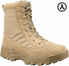 "ORIGINAL SWAT CLASSIC 9"" MEN'S BOOTS (TAN) - 115002 - ALL SIZES - M/W 4-16"