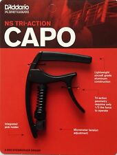 D'Addario Planet Waves NS Capo Pro Series black capo for guitar