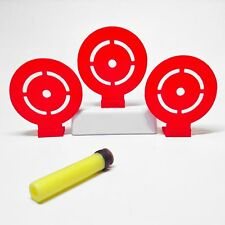 Flip Down Target (Set of 3) For Nerf Toy Foam Soft Dart Guns