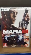 PC NEW SEALED Game * MAFIA III 3 - Includes Family Kick Back Pack- 1st Class Del
