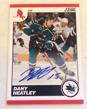 2010-11 Panini Score ALL STAR 2010-2011 DANY HEATLEY AUTO SSP 8/8 eBay 1/1 Wow