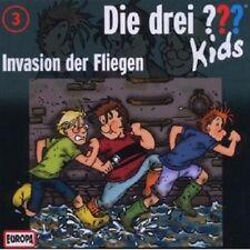 """DIE DREI ??? KIDS """"INVASION DER FLIEGEN (FOLGE 3)"""" CD HÖRBUCH NEUWARE"""