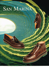 PUBLICITE ADVERTISING 094  1998  SAN MARINA  chaussures homme