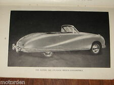 Rare 1949 AUSTIN ATLANTIC CONVERTIBLE & A70 Hampshire ORIG HANDBOOK FREE POST NR