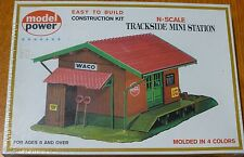 Model Power N #1520 Trackside Mini Station (Building Kit)