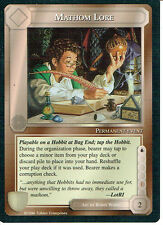 MIDDLE EARTH THE DRAGONS RARE CARD MATHOM LORE