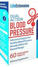 Life Extension Dual Action Blood Pressure 60 Vegi Tablets - Supports Healthy BP