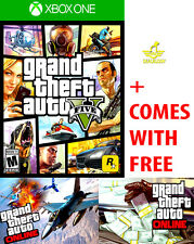 NEW Grand Theft Auto V 5 For The Microsoft Xbox One 1 S + GTA ONLINE GTAV GTA5