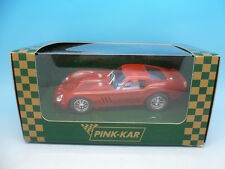 Pink Kar Pre Production Ferrari 250 GTO Red Transparente, mint