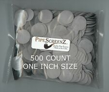 500+ Count ONE INCH Stainless Steel Pipe Screens HIGHEST QUALITY - MADE IN USA!