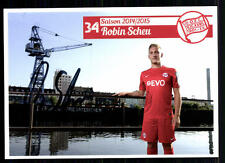 Robin timido kickers offenbach 2014-15 original firmado + a 87105