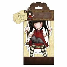 Gorjuss Ruby Large Doll Stamp by Santoro London