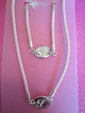 CRYSTAL INITIAL Y PINK ROPE NECKLACE AND BRACELET SET