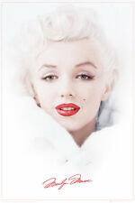 MARILYN MONROE - WHITE POSTER - 24x36 SEXY PIN UP CLASSIC 33964