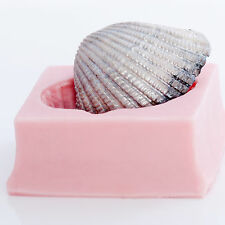 Seashell Silicone Soap Candle Clay Resin Fondant Chocolate Candy Ice Mold (829)
