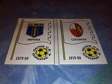 IMPERIA-LUCCHESE  SCUDETTO Calciatori Panini 1979/80 n°539 REC