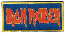 IRON MAIDEN IRON ON PATCH vintage new wave of british heavy metal venom
