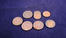 Mixed Lot Mexico Coins Estados Unidos Mexicanos +Bonus 500 Lire Italy+