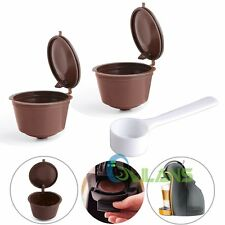 4 Reusable Coffee Capsules Cup Filter For Dolce Gusto Refillable Brewers Nescafe